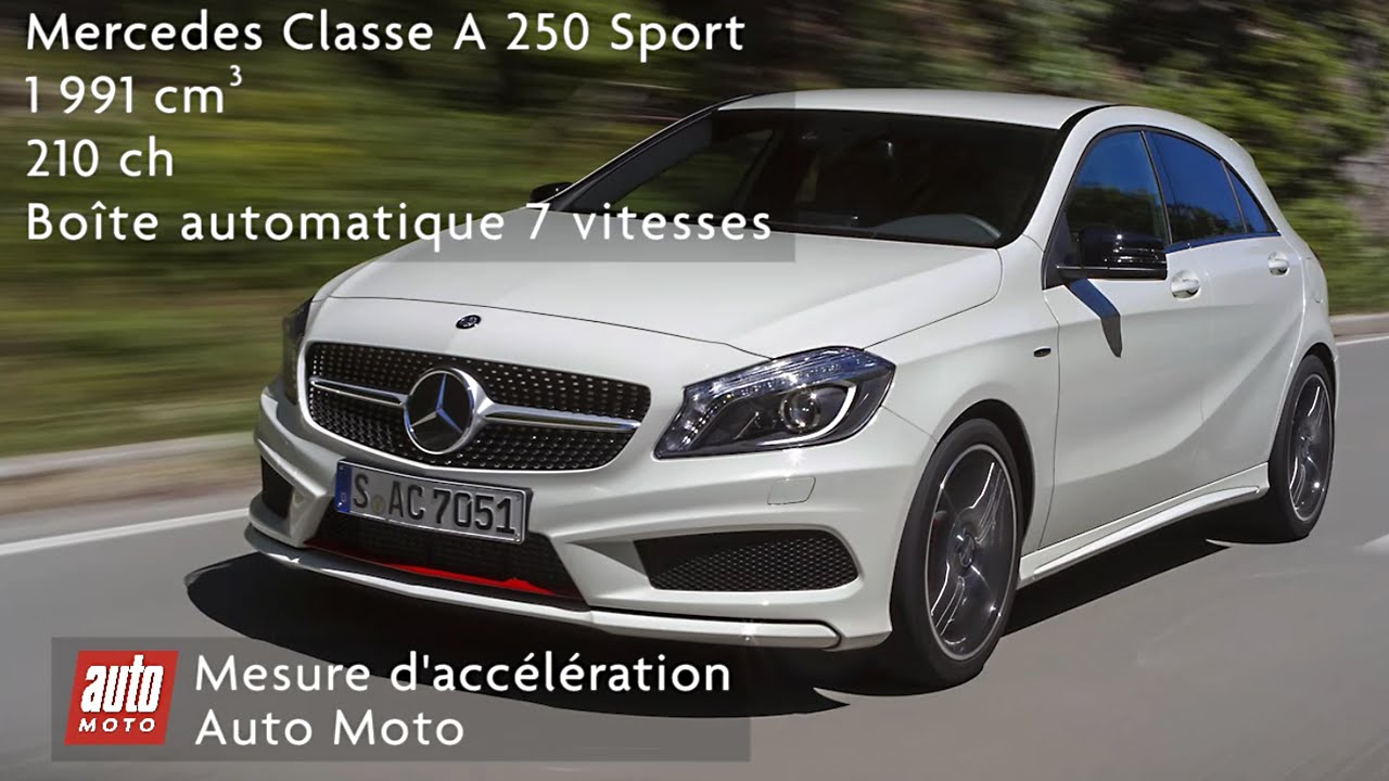 mercedes classe a 250 sport youtube. Black Bedroom Furniture Sets. Home Design Ideas