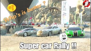 Crew- Supercar rally car challenge!!