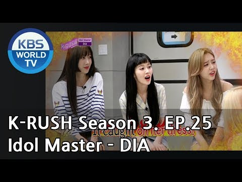 Idol Master  DIA! KBS World Idol Show KRUSH3  ENG,CHN  20180831