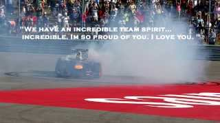 Formula 1 2013 USA GP - Radio Conversations