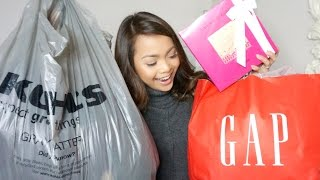 HUGE Black Friday Haul! | Cyber Monday DEALS | Kohl's AdoreMe GAP Lancome Express | Charmaine Dulak
