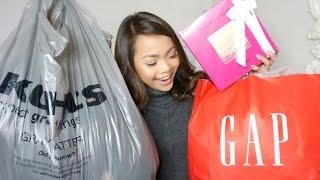 Huge Black Friday Haul! | Cyber Monday Deals | Kohl's Adoreme Gap Lancome Express | Charmaine Dulak