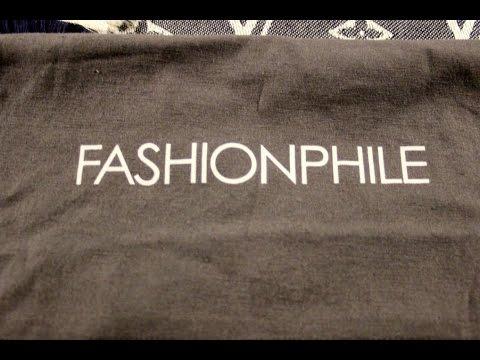 Fashionphile Unboxing: Louis Vuitton Bleu Denim Shawl