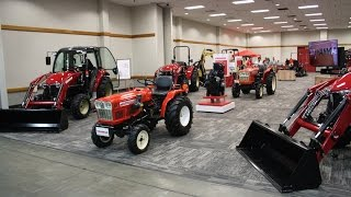 YANMAR Exhibit at the 2016 National Farm Machinery Show