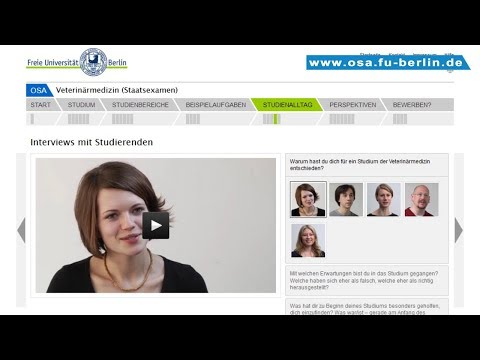 Veterinärmedizin Studieren An Der Freien Universität Berlin