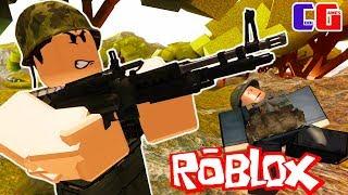 Battlefield в ROBLOX Военные приключения Мульт героя Роблокс на карте Unit 1968 Vietnam