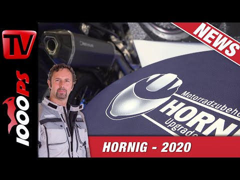 Hornig mit schlauen Lösungen auf der EICMA 2019 - BMW Motorrad Zubehör 2020