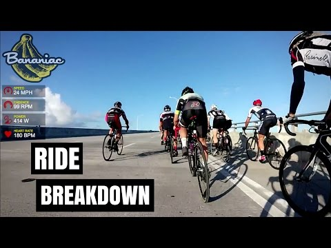 Key Biscayne Mass Ride Breakdown | Bananiac