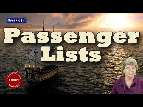 How to Research Passenger Lists for Genealogy