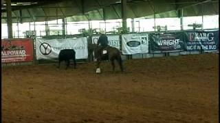 Katalena Whiz Working Cow Horse Competition Ardmore, Oklahoma