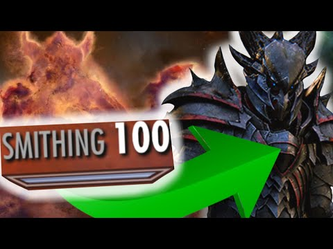How To Get SMITHING In Skyrim 1-100 VErY FAsT LiKe