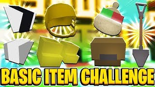 BASIC ITEM CHALLENGE! Boyfriend Vs Girlfriend In Roblox Bee Swarm Simulator