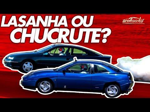 DUELO DAS LASANHAS VOLUME 1: FIAT COUPÉ X CHEVROLET CALIBRA NA VR! ACELELIVE #87