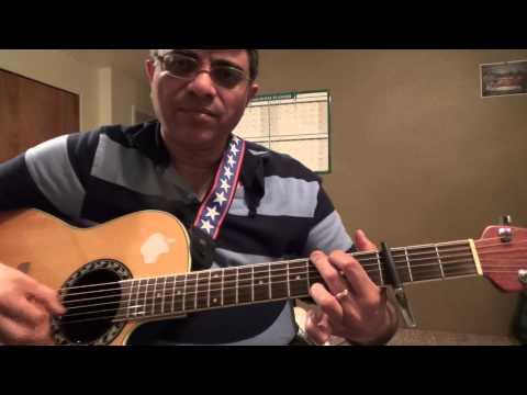 Ennamo Etho (M: Harris Jayaraj, S: Alaap Raju) Easy guitar chords lesson by Suresh