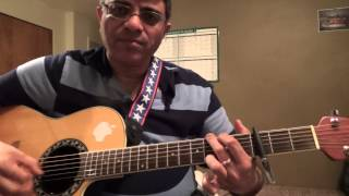 Ennamo Etho (M: Harris Jayaraj, S: Alaap Raju) Easy guitar chords lesson by Suresh