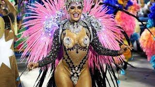 Rio Carnival 2019 [HD] - Floats &amp Dancers Brazilian Carnival The Samba Schools Parade