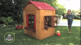 "Children's Wooden ""outdoor Playhouse"" By Kidkraft"