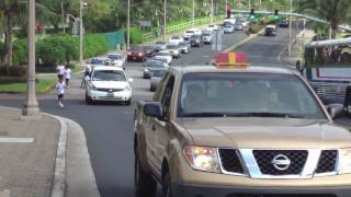Hand- Cyclist to circle Guam 完結編