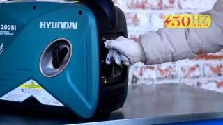 Инверторный генератор HYUNDAI HY200SI видео обзор и запуск смотреть