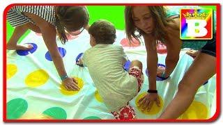 Twister Provocare.  Joc pentru copii.  Bogdans`s Show si prietenii