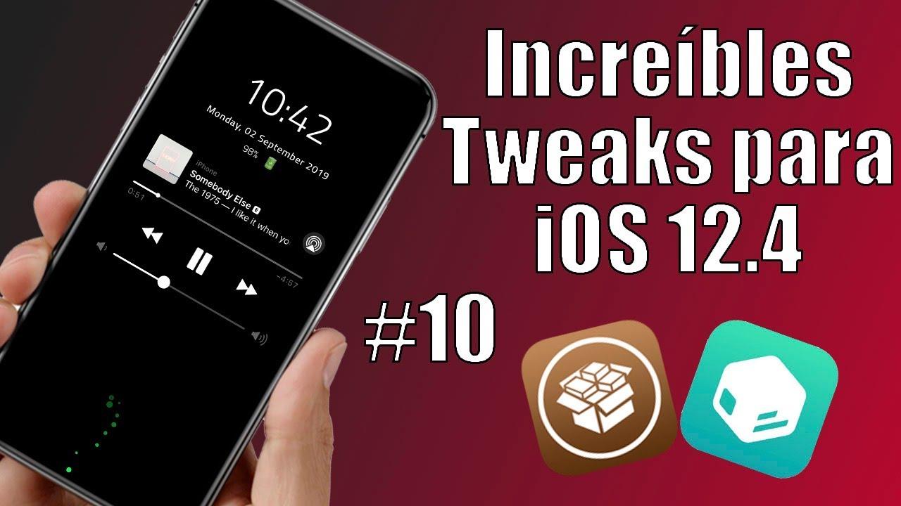 Top 5 | Increíbles Tweaks para iOS 12 4 #10
