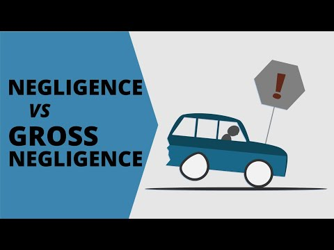 Negligence vs Gross Negligence | How Punitive Damages Play Out in Personal Injury Settlements