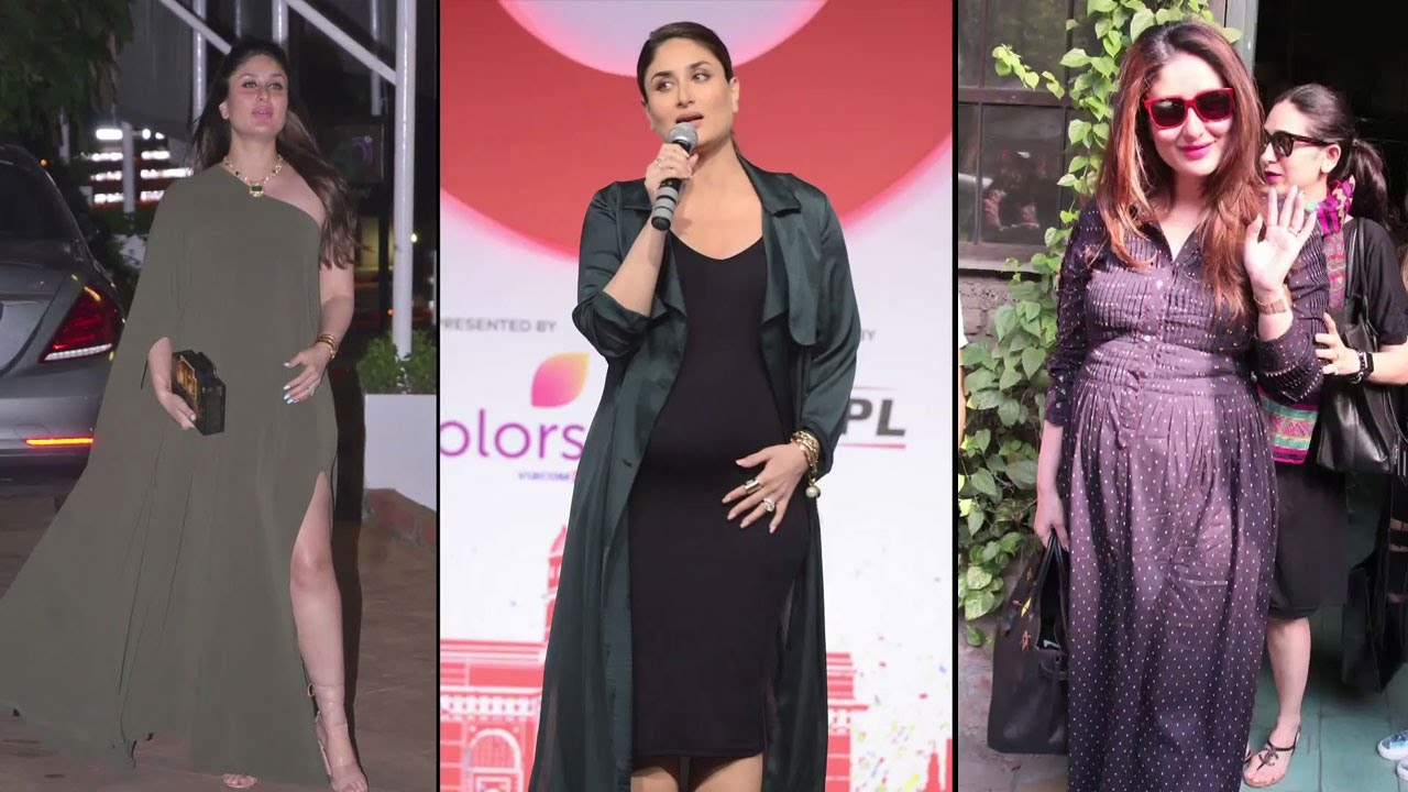 f9d6df4e323 12 Times Kareena Kapoor Khan Rocked the Pregnancy Style - YouTube