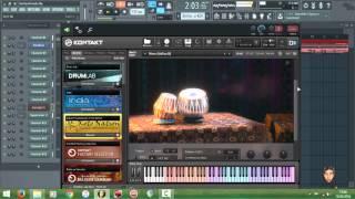 Tutorial Dangdutan di FL Studio 12 (Pake Library Tabla India)