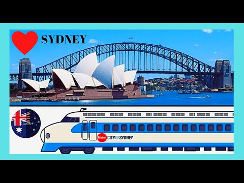 SYDNEY and its wonderful METRO or SUBWAY (underground), AUSTRALIA