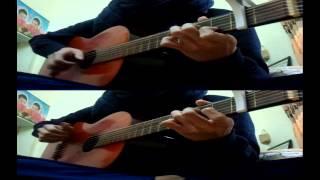 Dòng viết tay ngày ấy guitar demo Shou Xie De Cong Qian 手写的从前 周杰倫 guitar