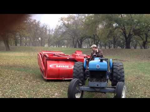 Pecan harvest 2011 - YouTube