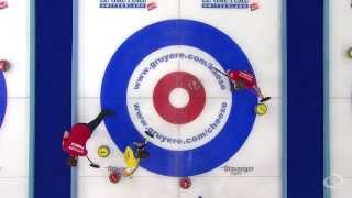 CURLING: FRA-SWE Euro Chps 2013 Men Draw 5 HIGHLIGHTS
