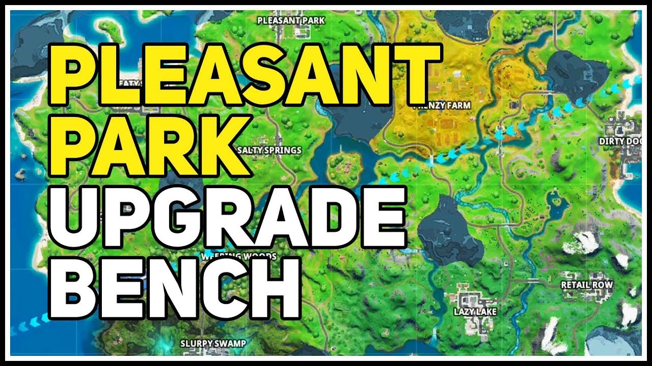 Weapon Upgrade Bench Pleasant Park Fortnite Chapter 2