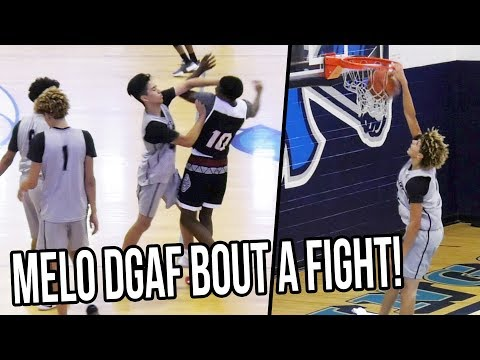 LaMelo DUNKS While Will Pluma Gets In HEATED Situation VS Team Lillard!