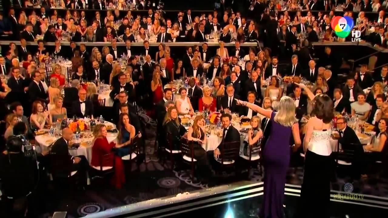 คลิปงานประกาศผลรางวัลลูกโลกทองคำ 2015 Golden Globe Awards 2015 1 15