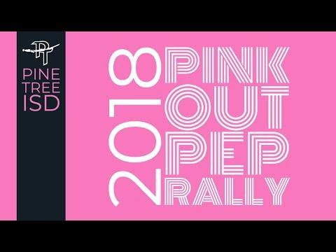 Pine Tree ISD Pink Out Pep Rally 2018