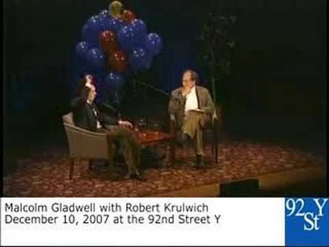 Malcolm Gladwell and Robert Krulwich at the 92nd Street Y