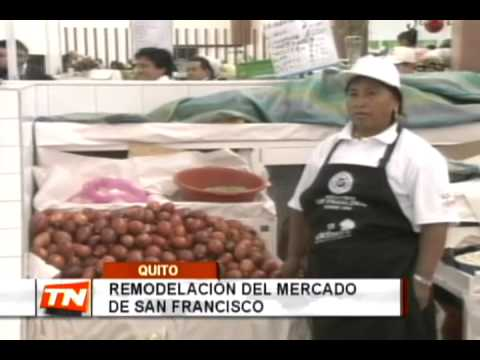 Remodelación del mercado de San Francisco