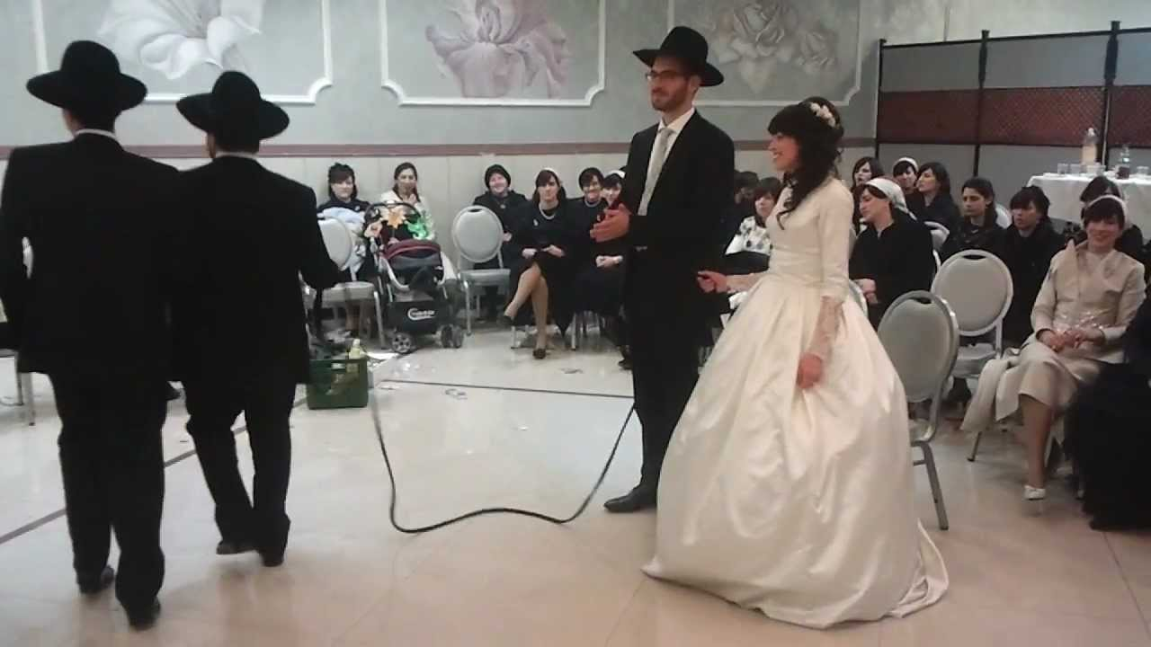 Beautiful Couple Jewish Wedding