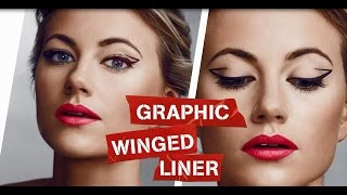 Rimmel How To Do The Perfect Graphic Winged Liner