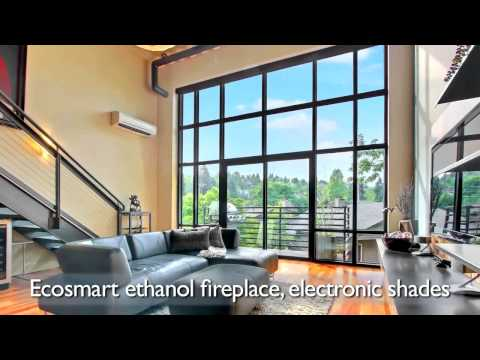 Madison Valley - Dramatic 2-level, top-floor LOFT condo