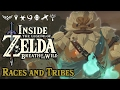 Inside Zelda Breath of the Wild - Races and Tribes