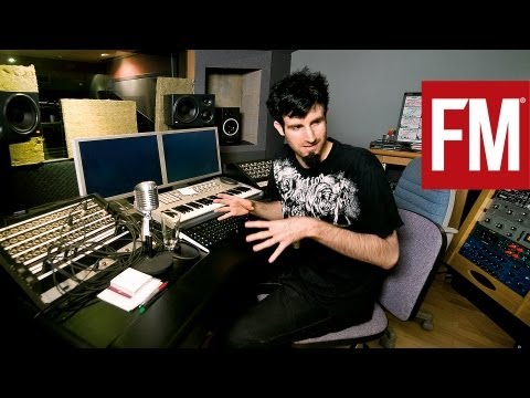 Pendulums Rob Swire In The Studio With Future Music