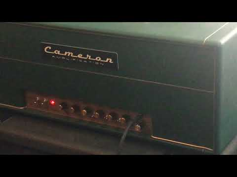 Mark Cameron custom Aldrich amp settings and warm up