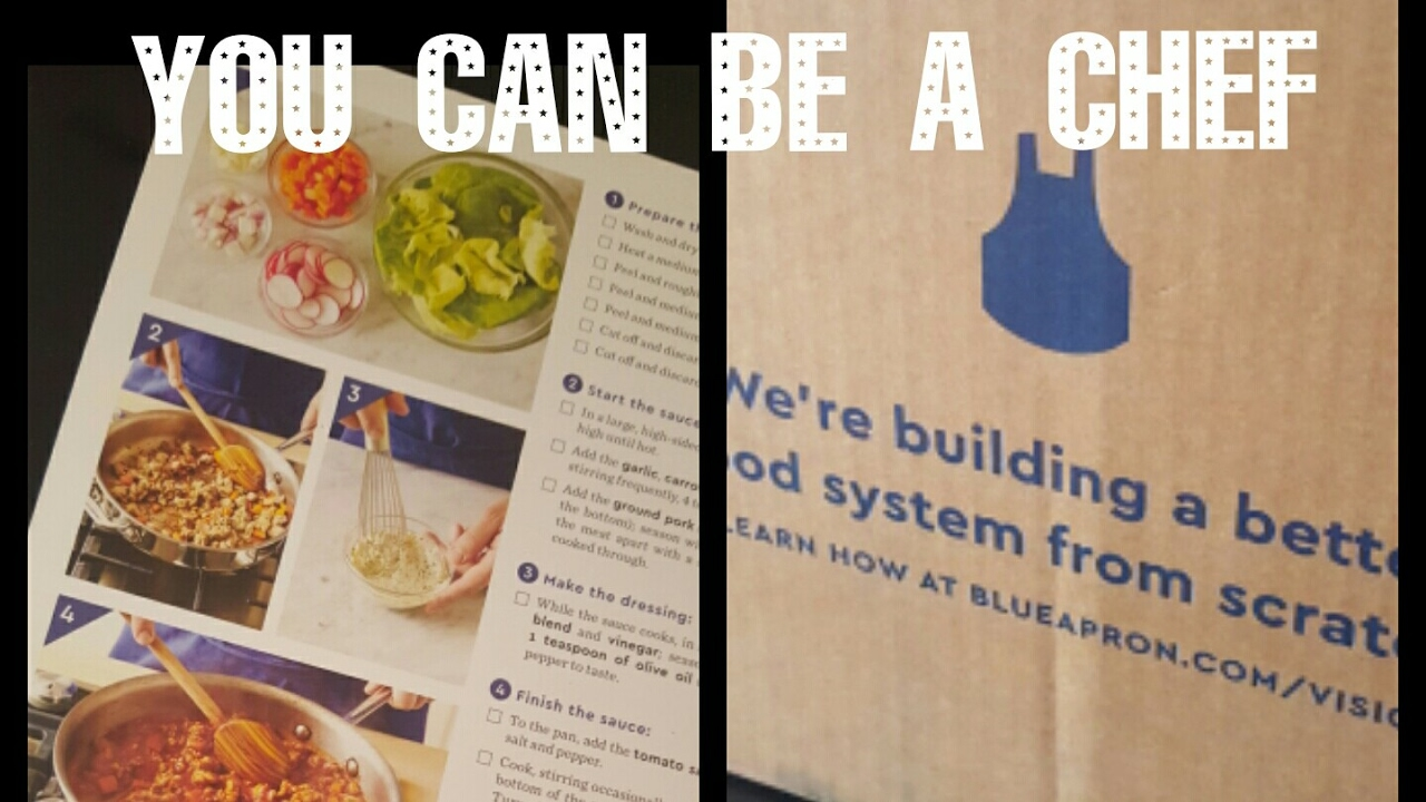 Blue apron youtube review - Blue Apron Cook With Me Review
