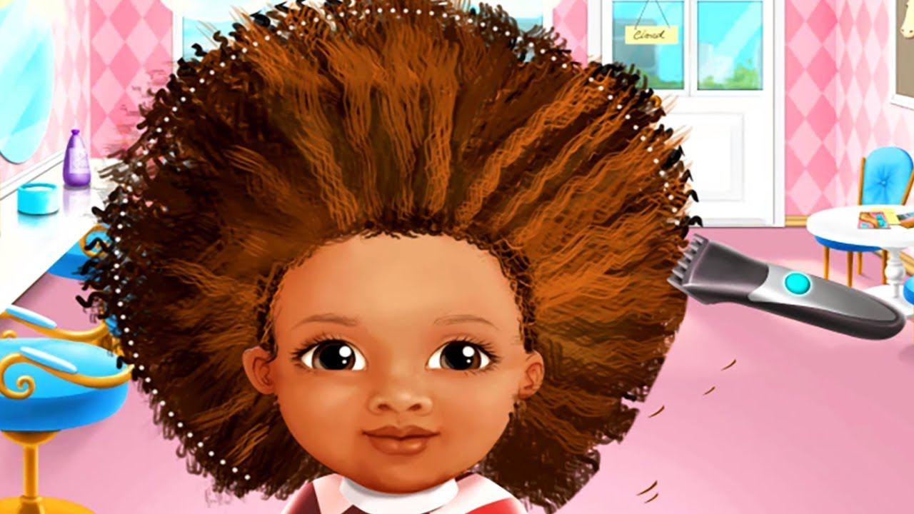 Sweet Baby Girl Beauty Salon 2 Kids Games Play Fun Hair Care Nail Spa Makeover Games For Girls Youtube