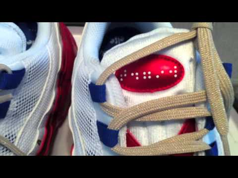 classic fit 025e2 21f46 NIKE Doernbecher Air Max  95 LE DB (2011) - White   Metallic Red   Gold  Coin - YouTube