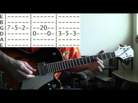 Guitar Lesson Beck Devils Haircut Tab