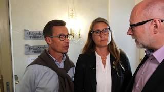 #Almedalen Stefan Attefall, Ulf Kristersson och Janine Alm Ericson #bopol
