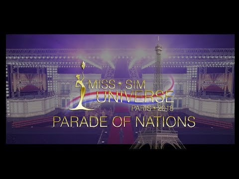 Miss Sim Universe 2018 [Parade Of Nations/Top 16]
